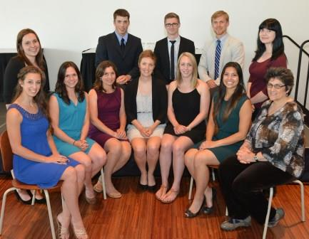 Récipiendaires des bourses d'excellence du CNFS 2014-2015