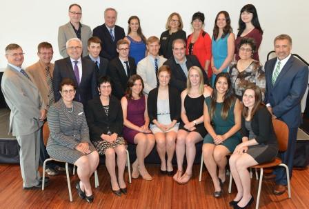 Boursiers et hauts dirigeants des institutions membres - AGA du CNFS 2014