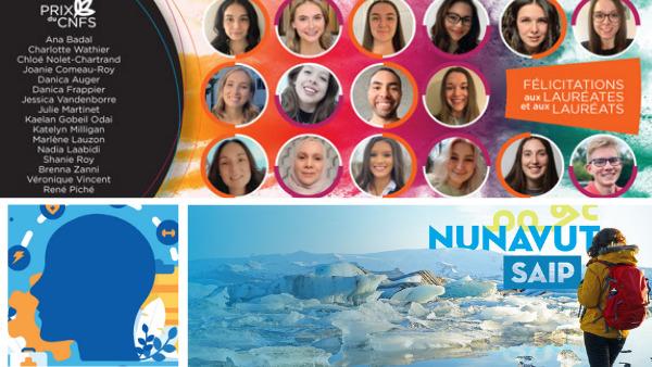 Remise du Prix du CNFS, nouveau partenaire régional au Nunavut, appel de propositions sur la santé cognitive et d'autres nouvelles