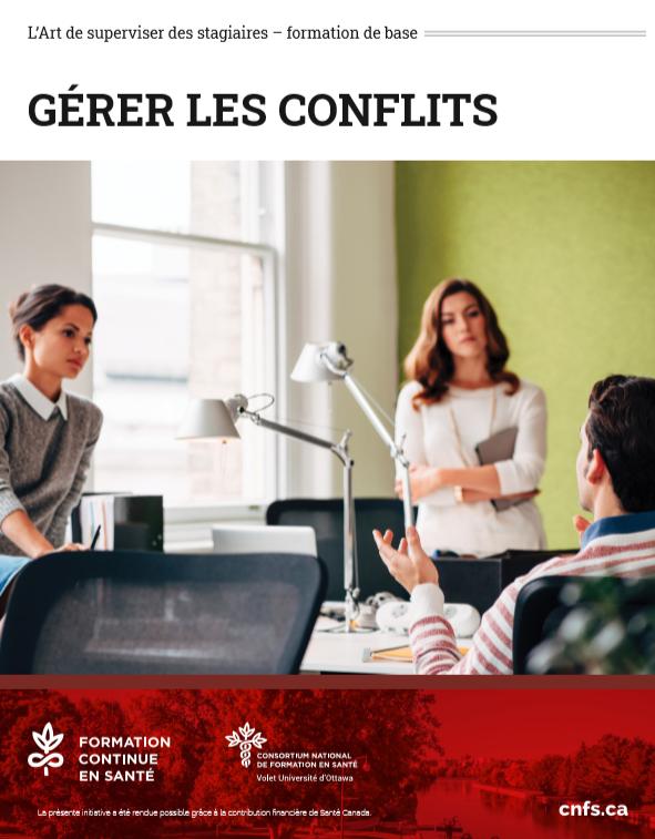 Gérer les conflits : Atelier du 5 janvier au 30 avril