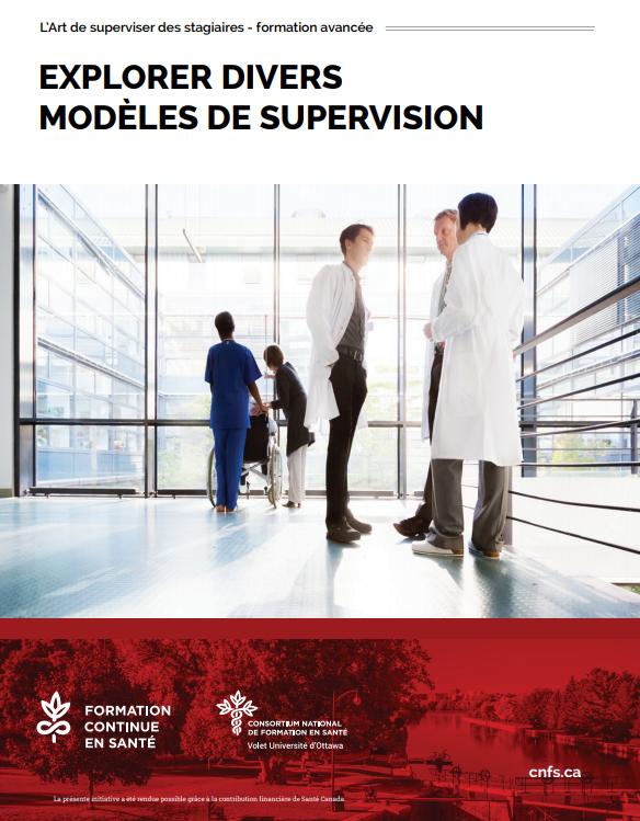 Explorer divers modèles de supervision – Atelier jusqu'au 31 août
