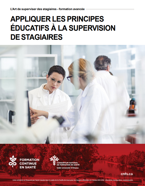 Appliquer les principes éducatifs à la supervision de stagiaires – Atelier jusqu'au 31 août